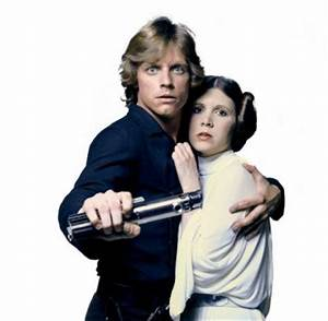 Couples Costumes Luke and Leia Skywalker Halloween Costumes