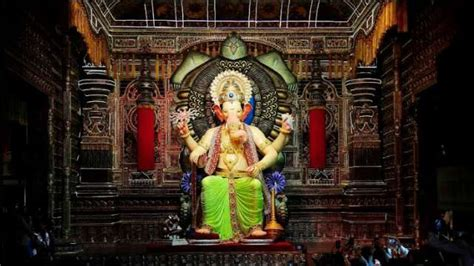 ganesh chaturthi lalbaugcha raja 2018 mukh darshan look wallpapers