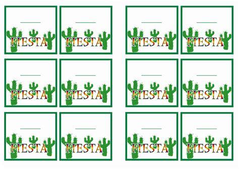 fiesta mexican  tags birthday printable
