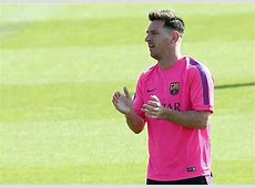 Lionel Messi's new haircut and style for 20142015