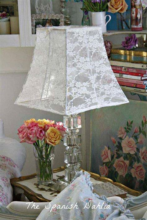 20 great diy ideas for decorating with lace 13 diy and