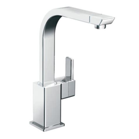 Moen 90 Degree Faucet Kitchen by Moen S7170 90 Degree Single Handle Kitchen Faucet Chrome