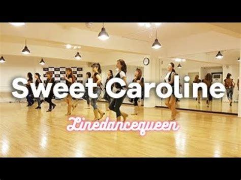 Sweet Caroline Line Dance Darren Bailey Phrased