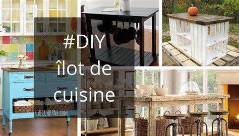 comment faire un ilot central cuisine comment construire un ilot central de cuisine ilot