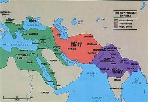 Ottoman Empire 1500 by This Map Shows The Ottoman Empire Safavid Empire And