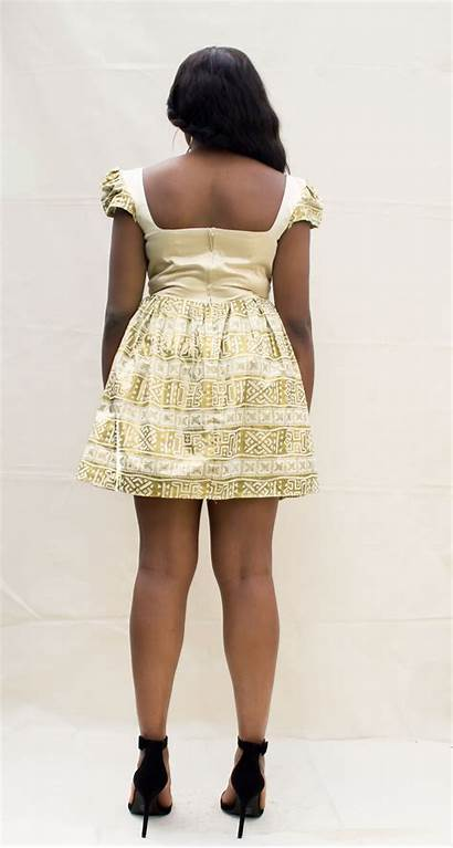 African Plus Flare Sateen