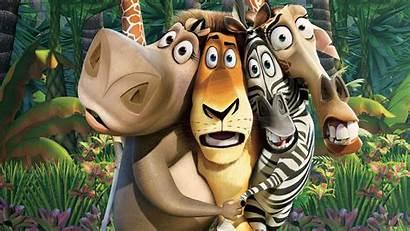 Madagascar Movies Wallpapers Dreamworks Desktop Disney Cartoon