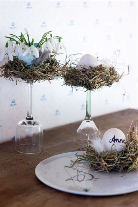 bird decor 12 cute diy bird nest decorations for easter shelterness