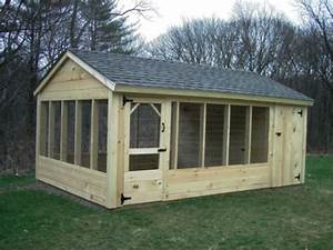 74 simple cheap diy wooden chicken coop ideas wartakunet With big dog enclosures