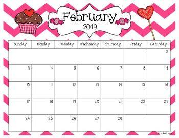 editable calendar version sarah kirby tpt