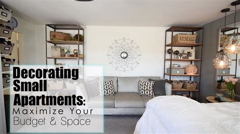 maximize  space budget  small apartments