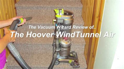 hoover windtunnel air uh vacuum review youtube