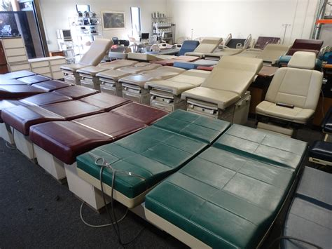 ritter and midmark tables and procedure chairs used