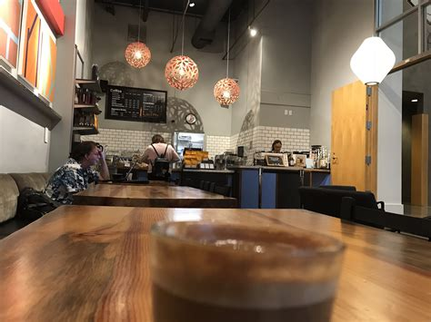 Union coffee is also part of a cluster of cafe and coffee options in the area. Caffe Ladro - Union Street | Seattle coffee shops, Natural wood table, Seattle coffee