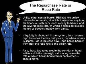 Repo Rate And Reverse Repo Rate