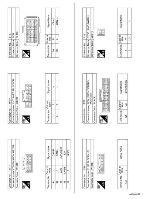 Nissan Rogue Service Manual Cvt Control System Wiring