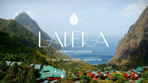 Luxury Resort Marketing W An Edge Ladera St Lucia