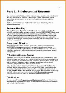 11 resume for phlebotomy resume cover note With certified phlebotomy technician