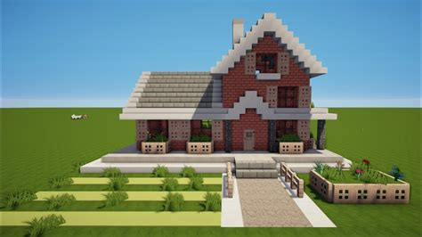 Minecraft Familien Haus Bauen Tutorial [haus 87] Youtube