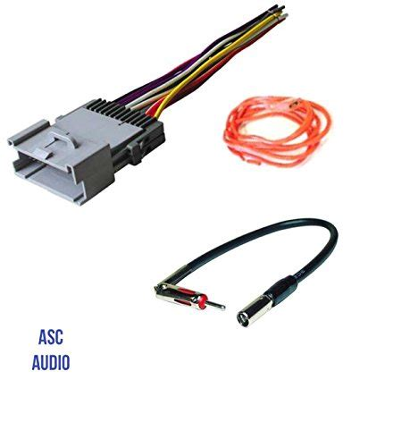 Gmc Factory Radio Wire Harnes For Aftermarket Car by E Wor Din Stereo 7 In Dash Touchscreen Stereo With