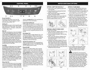 Page 4 Of Kenmore Dehumidifier 251 90701 User Guide