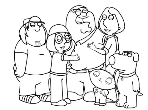 How to draw Family Guy Characters Part 2 by SketchHeroes