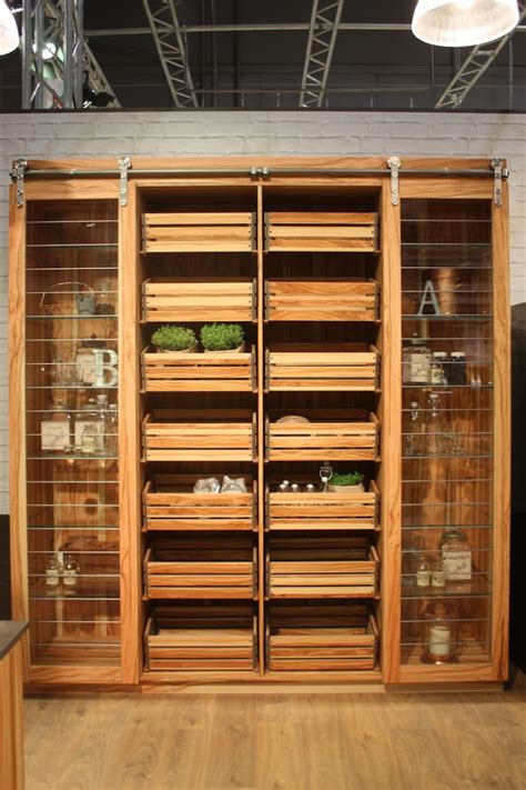 clever design features  maximize  kitchen storage