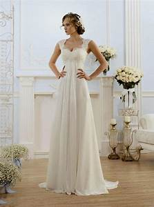 Empire waist beach wedding dresses naf dresses for Empire style wedding dress