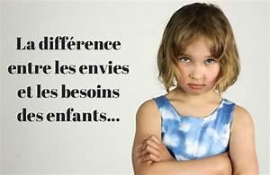 Difference Entre Catalyse Et Pyrolyse : la diff rence entre les envies et les besoins des enfants ~ Premium-room.com Idées de Décoration