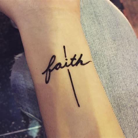 amazing faith love hope tattoo designs meanings