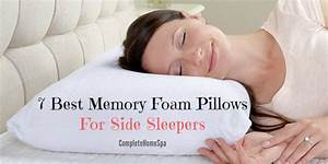 7 great memory foam pillows for side sleepers july 2018 With best memory foam pillow for side sleepers