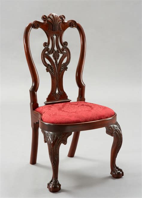 reproduction 18th century and chippednale