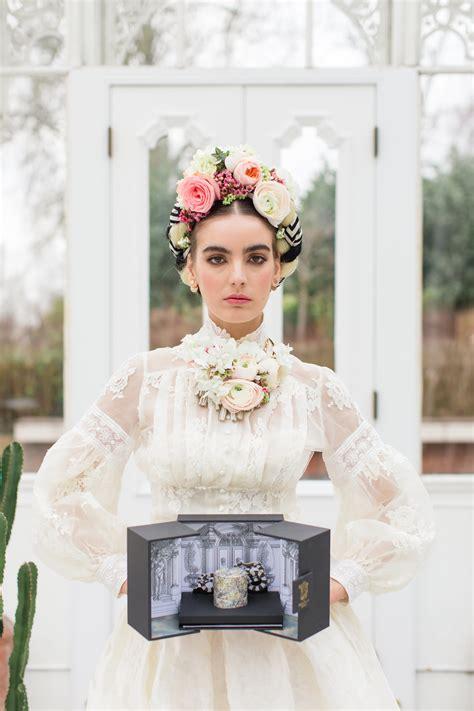 Styled Shoots Romantic Feminine Bridal Frida Kahlo