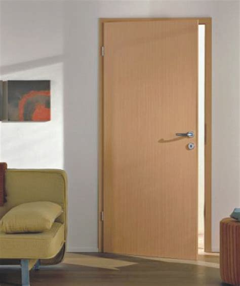 Commercial Ply Flush Door With Glass Hpd535   Commercial