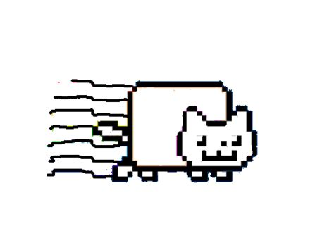 Nyan Cat Coloring Pages 28 Images