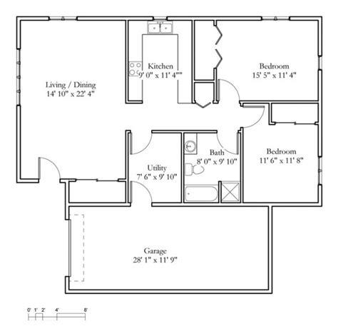 1 bedroom cottage floor plans one bedroom cottage floor plans