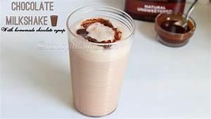 Chocolate milkshake, Chocolate milkshake with homemade ...