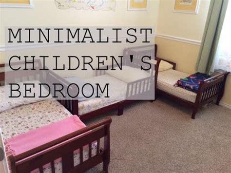 Minimalist Children's Bedroom Tour  Family Minimalism