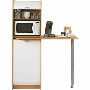 table de cuisine meuble de rangement simmob With meuble rangement cuisine