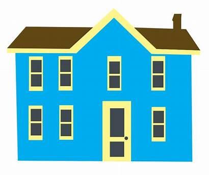 Clipart Clip Cliparts Houses Transparent Domain Building
