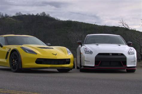 Nissan Gtr Vs Corvette by 2015 Z06 Corvette Vs Gtr Html Autos Post