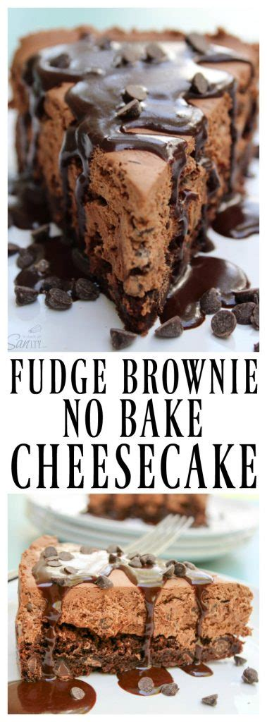 fudge brownie  bake cheesecake