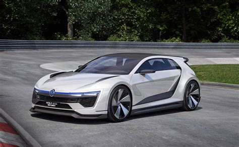 vw golf gte sport the outrageous carbon bodied 400bhp hybrid gti by car magazine