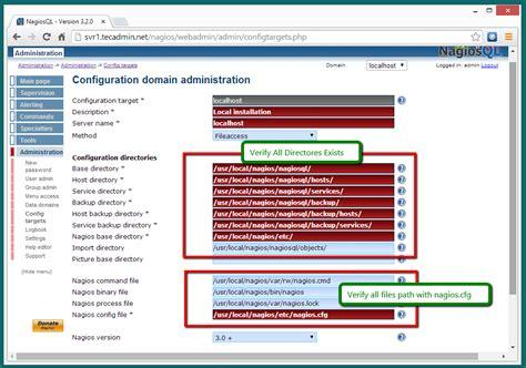 How To Setup Nagiosql3 (nagios Web Ui) On Linux