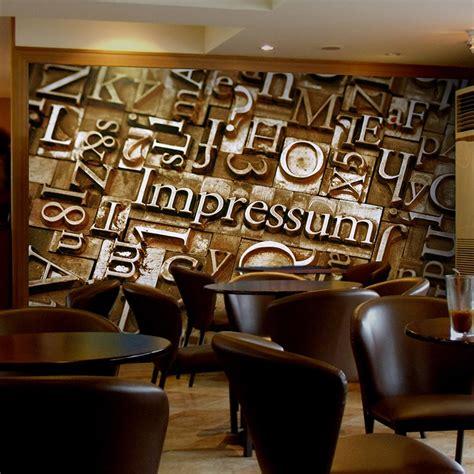 buy wholesale coffee shop wallpaper  china