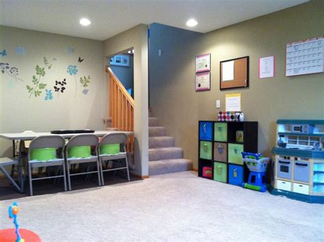 Home Daycare Design Ideas by This But Need Smaller Tables For The Children In