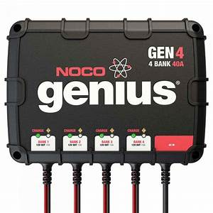 Noco - 4-bank 40a On-board Battery Charger