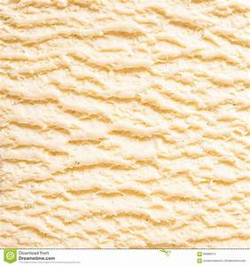 Vanilla Bourbon Ice Cream Detail Stock Photo - Image: 68389314