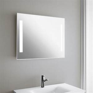 Miroir Lumineux Led : miroir lumineux led salle de bain de 75 90x60 cm ~ Edinachiropracticcenter.com Idées de Décoration