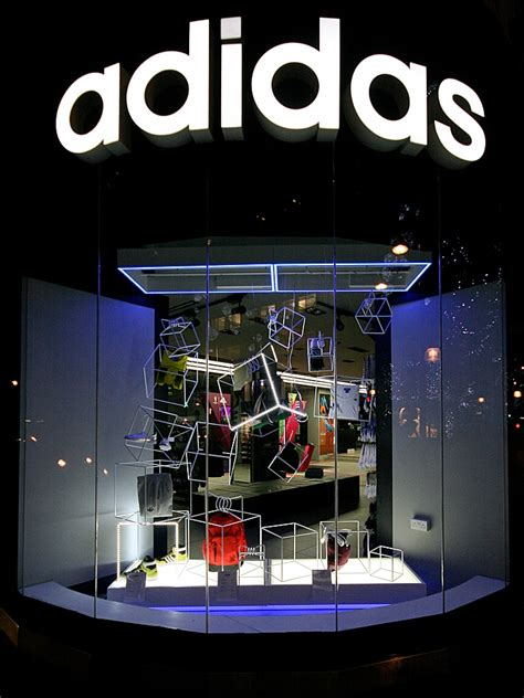 adidas windows  winter london